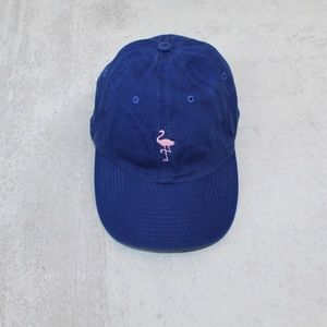 Empyre Blue Pink Flamingo Ball Hat